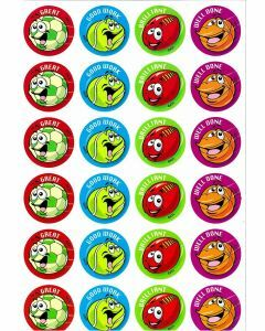 Sports Balls Merit Stickers (ms098)