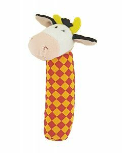 Cow Squeakie Toy (Ages 0-24 months)