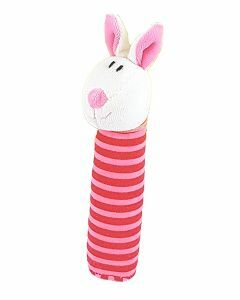 Rabbit Squeakie Toy (Ages 0-24 months)