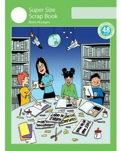 Super Size Scrap Book 48pp Green Cover