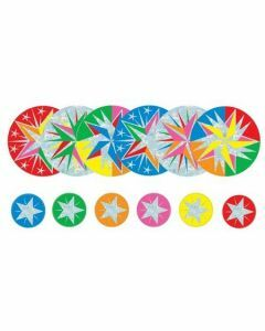 Stars Foil Stickers: 36 Stars and 144 Mini Stars (fs240)