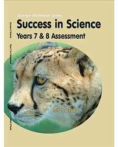 Success in Science Years 7 & 8 Assessment &  S4SA (Stage 4 Science Assessment) booklet