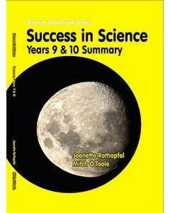 Success in Science Years 9 &10 Summary