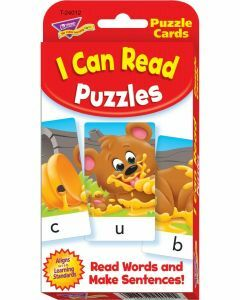 I Can Read Puzzle Cards