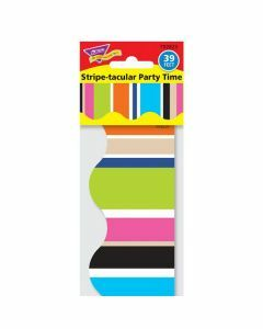 Stripe-tacular Party Time Terrific Trimmers