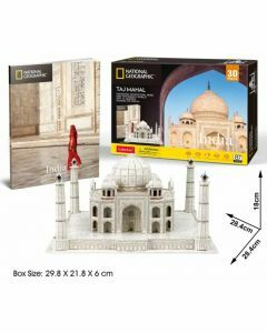 National Geographic 3D Puzzle & Book - Taj Mahal (Ages 8+)