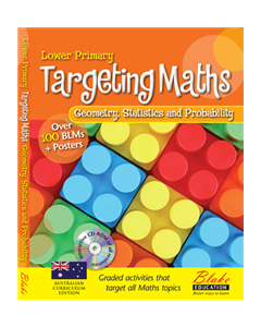 Targeting Maths - Lower Primary - Geometry, Statistics and Probability New Edition
