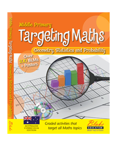 Targeting Maths - Middle Primary - Geometry, Statistics and Probability New Edition