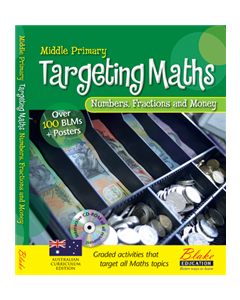 Targeting Maths - Middle Primary - Number, Fractions and Money New Edition