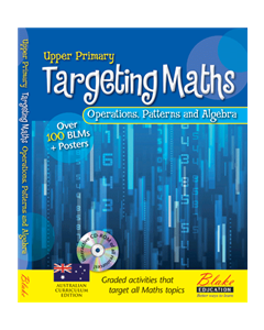 Targeting Maths - Upper Primary - Operations, Pattern and Algebra New Edition