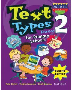 Text Types for Primary Schools Book 2 Second Edition [On backorder until Apr 2020]