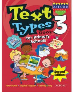 Text Types for Primary Schools Book 3 Second Edition