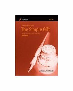 Top Notes HSC Belonging: The Simple Gift