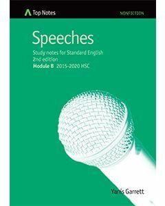 Top Notes Speeches: HSC Standard Module A 2015-2018