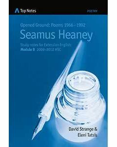 Top Notes: Opened Ground: Poems 1966-1992 SEAMUS HEANEY (blue)