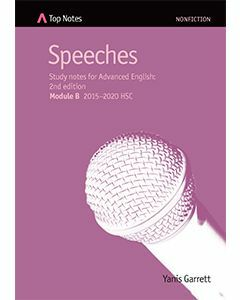 Top Notes Speeches: HSC Advanced Module B 2015-2018