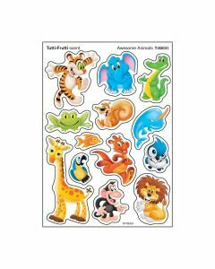 Scratch 'n Sniff Stinky Tutti-Frutti scent & Awesome Animals