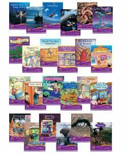 Sails Fluency Level Set 2- Purple Multi Pack