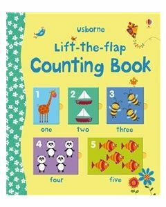 Usborne Lift the Flap Counting Book (Ages 3+)