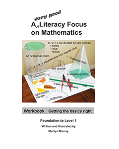 A very good literacy focus on Mathematics Book 1 Workbook: Getting the Basics Right with CD