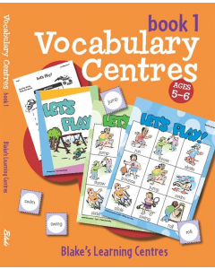 Blake's Learning Centres: Vocabulary Book 1 (Ages 5 to 6)