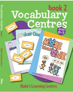 Blake's Learning Centres: Vocabulary Book 2 (Ages 6 to 7)
