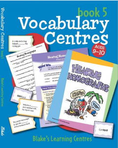 Blake's Learning Centres: Vocabulary Book 5 (Ages 9 to 10)