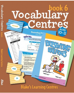 Blake's Learning Centres: Vocabulary Book 6 (Ages 10 to 11)