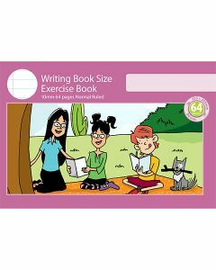 Writing Book Size Exercise Book 10mm Normal Ruled 64pp