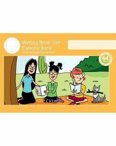 Writing Book Size Exercise Book 12mm Normal Ruled 64pp