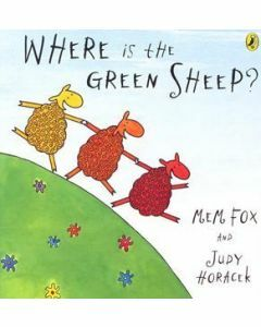 Where is the Green Sheep? Board Book