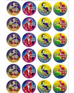 Witches and Wizards Merit Stickers (ms100)