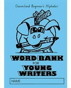 Word Bank for Young Writers Qld font
