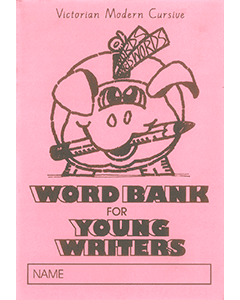 Word Bank for Young Writers Vic font