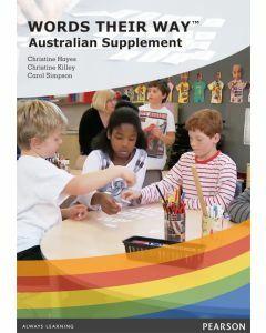 Words Their Way Australian Supplement DVD