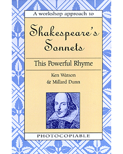 A Workshop Approach to Shakespeare's Sonnets