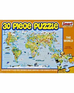 The World 30 Piece Puzzle (Ages 7+)