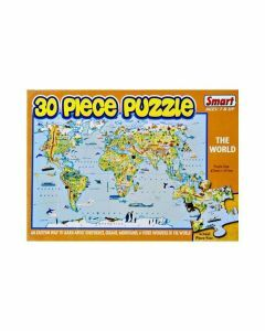 The World 30 Piece Puzzle (Ages 4+)