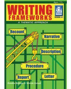 Writing frameworks Ages 11+