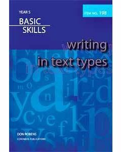 Writing in Text Types Year 5 (Item no. 198)