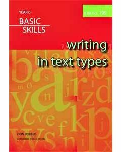 Writing in Text Types Year 6 (Item no. 199)