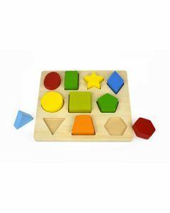 10pcs Shape Puzzle (12 months+)