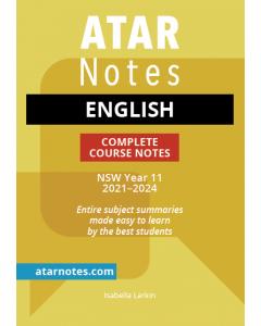 ATAR Notes: HSC Year 11 English Notes