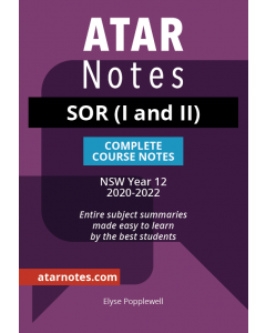 ATAR Notes: HSC Year 12 Studies of Religion I & II Notes