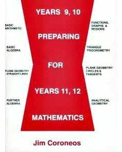 Year 9,10 Preparing for Years 11, 12 Mathematics (Item no. 2)