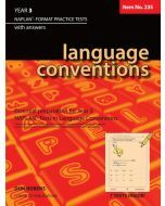 Language Conventions Year 3 NAPLAN* Format Practice Tests (Basic Skills No. 235)