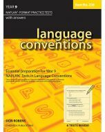 Language Conventions Year 9 NAPLAN* Format Practice Tests # 258