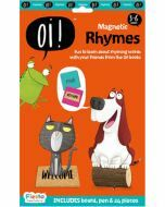 Oi! Magnetic Rhymes - Board, Pen & 24 pieces (Ages 3-6)