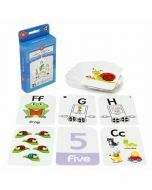 Alphabet & Numbers 1-10 Flash Cards (Ages 3+)