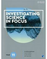 Investigating Science in Focus Year 11 Student Book with 4 Access Codes